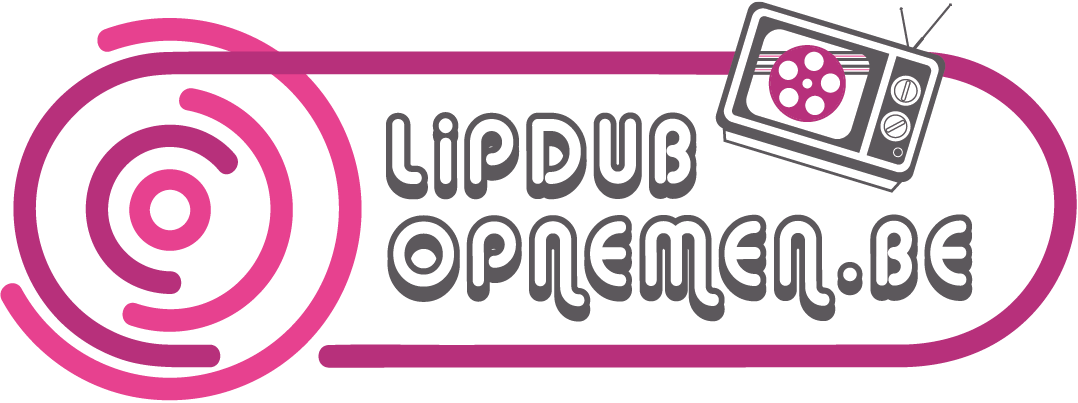 Lipdub-opnemen.be Retina Logo